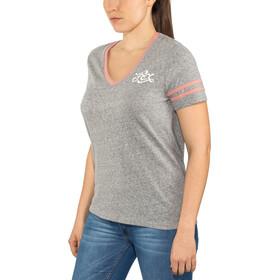 Fox Heartbreaker V-Ausschnitt SS T-Shirt Damen heather graphite